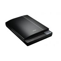 (EPSON) V370照片扫描仪便携式扫描仪文件扫描平板式A4商务彩色底片影像实物扫描仪