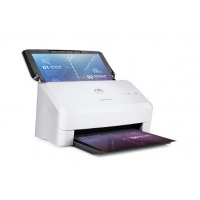 hp 3000s3扫描仪高速扫描 办公文件批量自动进纸 票据快递单发票快速双面连续扫描机