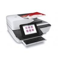 HP A3扫描仪N9120fn2 企业级批量文件高速扫描快速连续双面自动进纸扫描机 N91