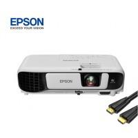 (EPSON)CB-X05E 投影仪 投影机办公(标清 3300流明 支持左右梯形校正)(