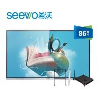(seewo)MC08FEA 教学一体机 交互式智能电子白板触控一体机 86英寸单机+i3
