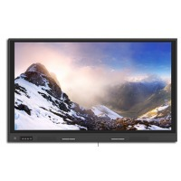 鸿合教学办公会议平板一体机视频会议智能无线电子白板触摸商务用大屏触控电视一体机 86英寸(
