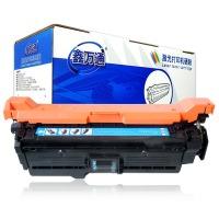 鑫万通CE251A CE261A蓝色硒鼓(适用惠普CP4025N/CP4525/4525XH/CP4025dn/CP4525DN/M4025/M4225)
